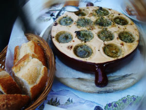 Escargot  à l'alsacienne